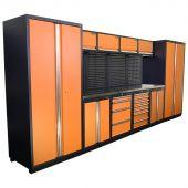Kraftmeister Werkstatteinrichtung Winnipeg Edelstahl Nextgen orange