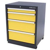 Kraftmeister Werkzeugschrank 4 Schubladen gelb - Nextgen