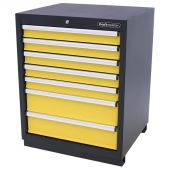 Kraftmeister Werkzeugschrank 7 Schubladen gelb - Nextgen