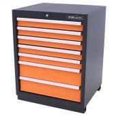 Kraftmeister Werkzeugschrank 7 Schubladen orange - Nextgen