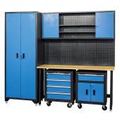 George Tools Werkstatteinrichtung Maine blau