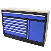 Kraftmeister Werkzeugschrank XL Multiplex Standard blau