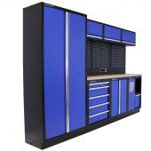 Kraftmeister Werkstatteinrichtung Washington Multiplex blau