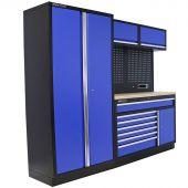 Kraftmeister Werkstatteinrichtung Iowa Multiplex blau