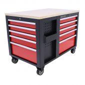 Kraftmeister Werkzeugwagen XL Multiplex Standard rot