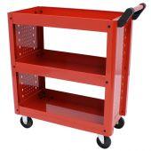 George Tools Werkstatt-Servicewagen rot