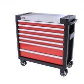 George Tools Werkzeugwagen gefüllt Redline 38 Premium - 154-teilig